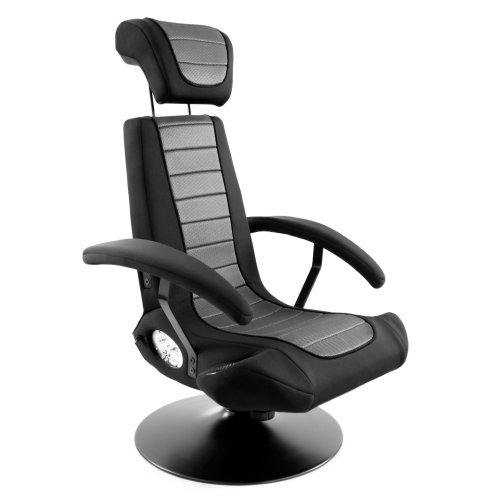 Lumisource Boom Chair Stealth B2 w/Bluetooth in Black