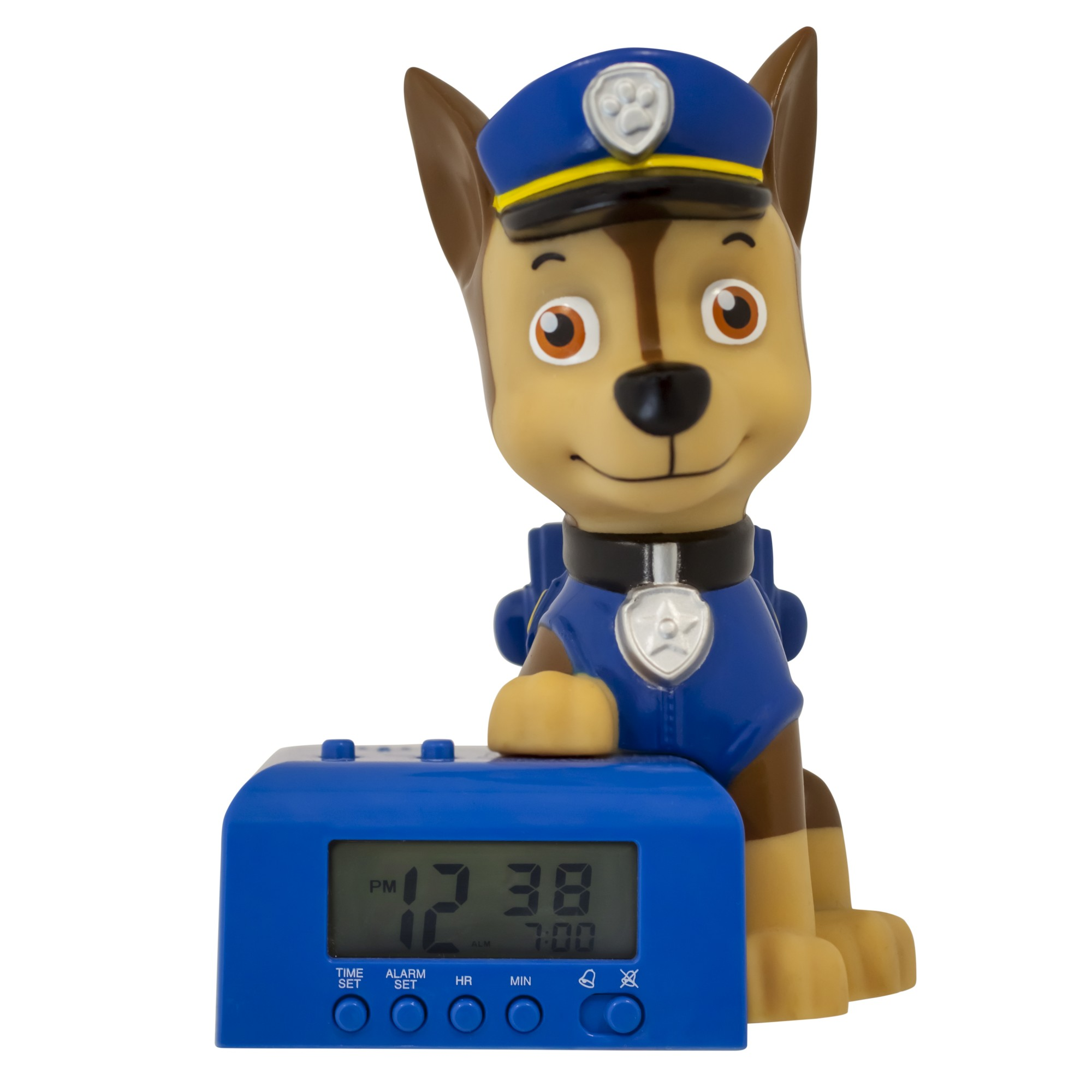 BulbBotz™ PAW Patrol™ Chase™ Night Light Alarm Clock (6 inch)