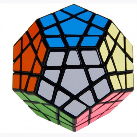 Peralng Megaminx Magic Cube high Speed rubiks Cube Puzzle Toy, Brain Teasers game black & Colorful (color as shown )Ship from USA
