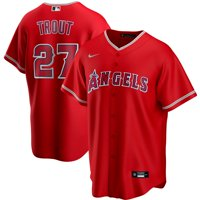Mike Trout Los Angeles Angels Nike Alternate 2020 Replica Player Jersey - Red