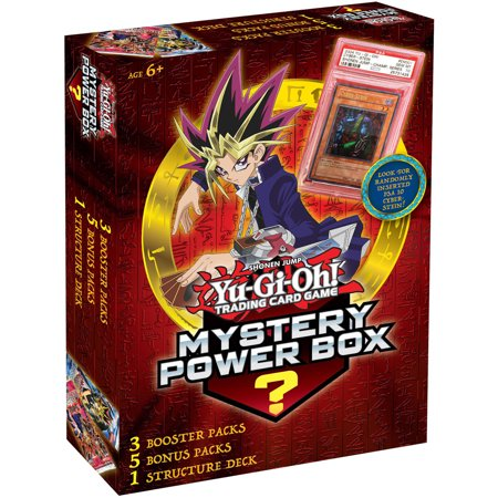 Konami Yugioh Mystery Power Box (Yugioh Invasion Of Chaos 1st Edition Box)