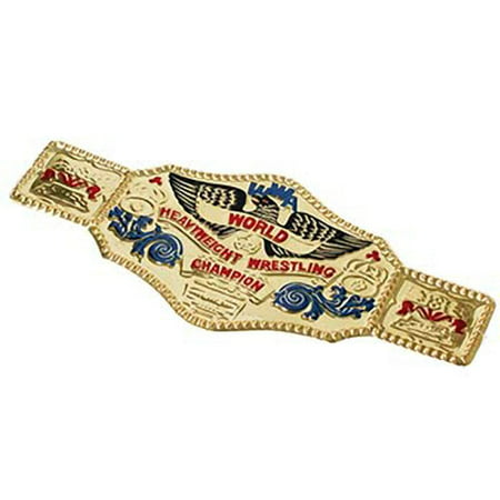 World Wrestling Championship Belt Costume Accessory WWF WWE Wrestler Gold - Wwe Costume Belt