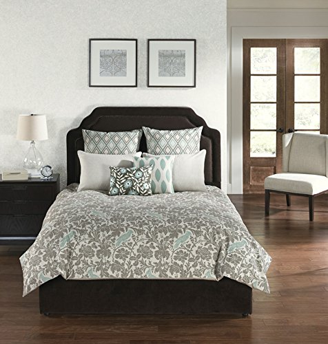 Angelo Home USA Camden Square Park 6 Piece Comforter with Filler Set-King Size