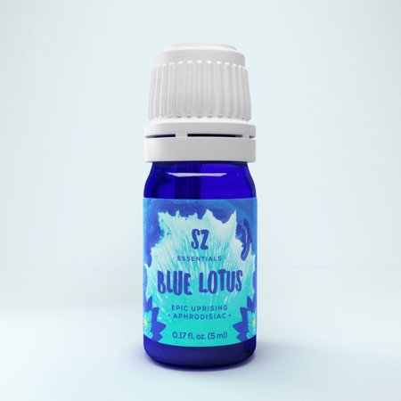 Blue Lotus Essential Oil - 100% pure therapeutic grade - Divine Scent! - Undiluted