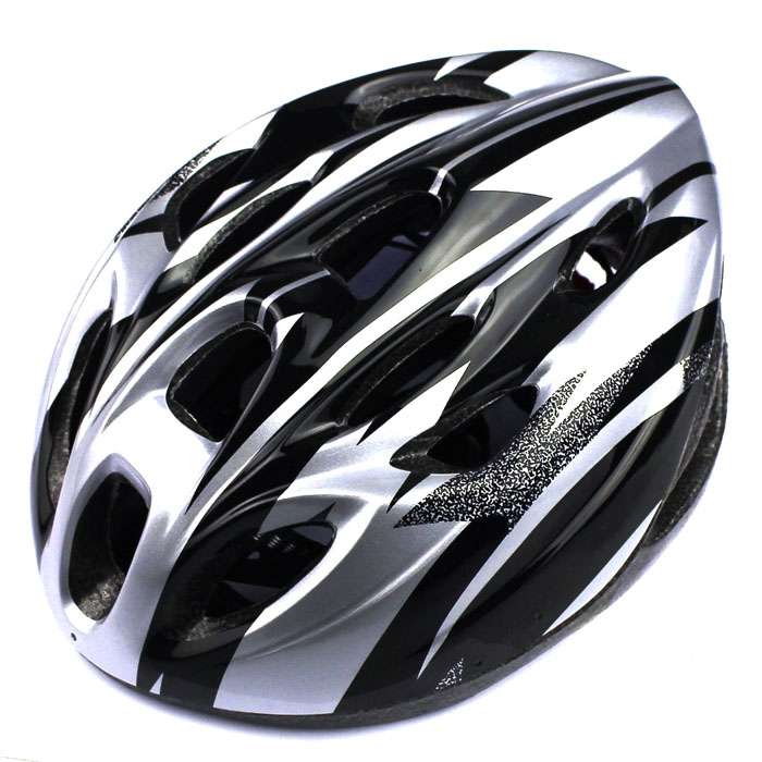18 Vents Adult Sports Mountain Road Bicycle Bike Cycling Helmet Silver Hight Quality