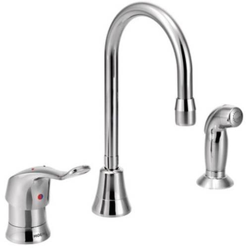 Moen 8138 M-DURA Commercial Kitchen Faucet, Chrome