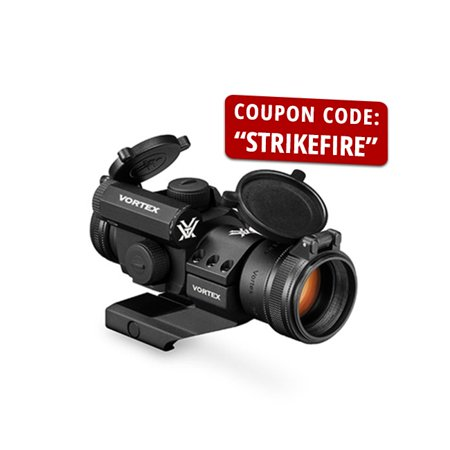 Vortex Strikefire II 4 MOA Bright Red Dot Optic Sight - SF-BR-503 ()