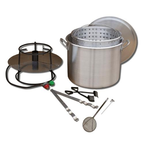 King Kooker  #80BP- Cooker and 80 Qt. Pot Boiling Combo Pkg - 80BP