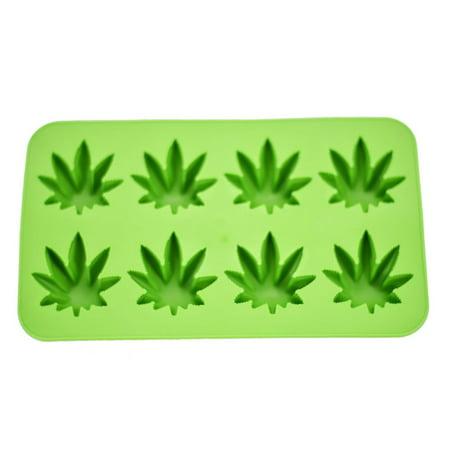 Fairly Odd Novelties Cannabis Ice Cube Tray - Green Ice Cubes