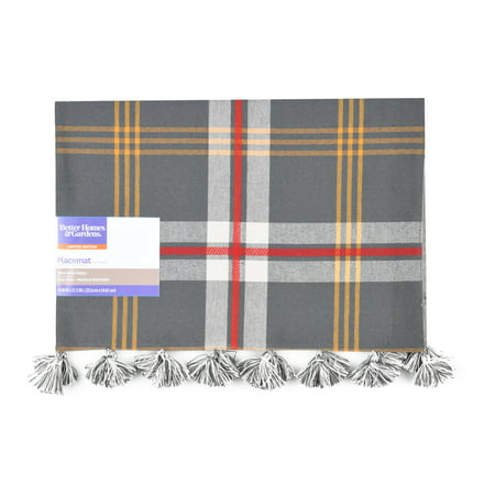 Better Homes & Gardens Harvest Farmhouse Plaid Placemat