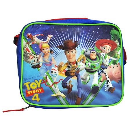 Disney Lunch Box - Toy Story Disney Pixar 4 Lunch Box Bag Insulated Soft Case with Strap