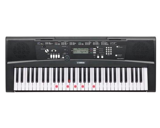 Yamaha EZ-220 61-Note Lighted Portable Keyboard by Yamaha