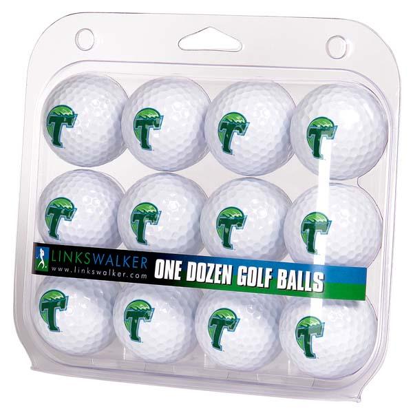 LinksWalker Tulane Dozen Golf Balls