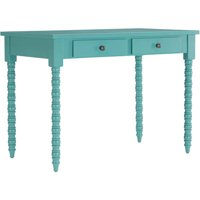 Chelsea Lane Writing Desk with Helix Legs, Multiple Colors