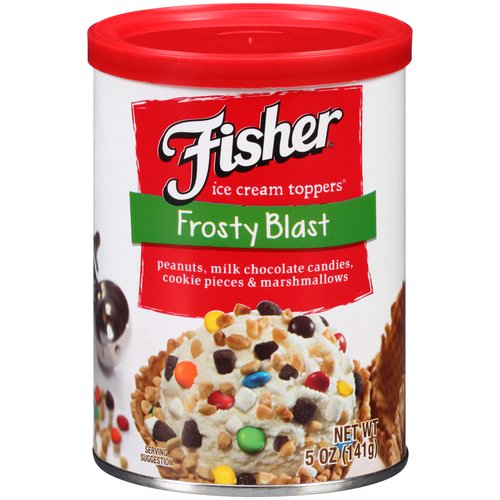Fisher Frosty Blast Ice Cream Toppers, 5 oz