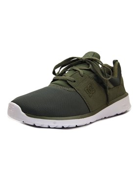 29355fae0 Product Image DC Shoes Heathrow Men Round Toe Leather Green Skate Shoe