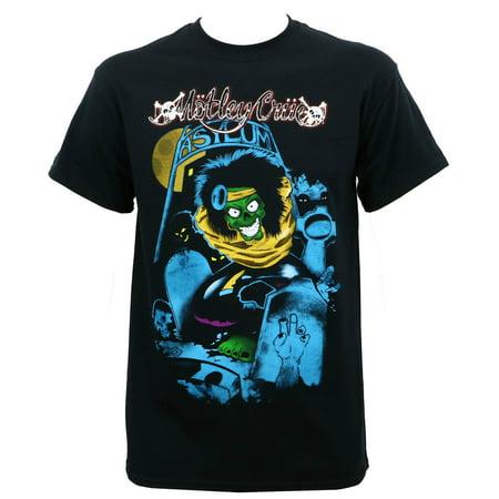 Miley Cyrus T-shirts - Motley Crue Men's Feelgood Graveyard Vintage T-Shirt Black