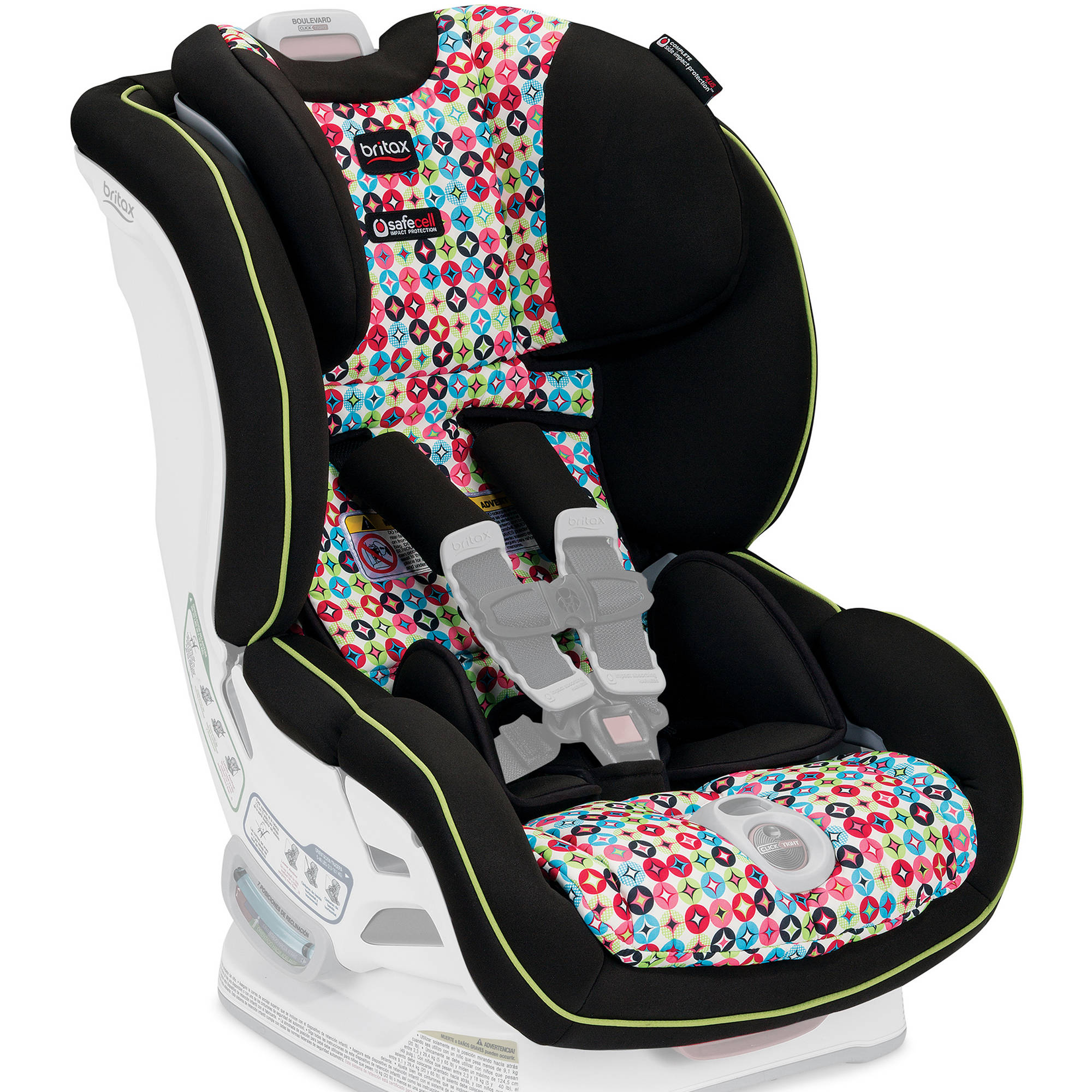 Britax Car Seat Cover Set, Boulevard ClickTight Convertible, Kaleidoscrope