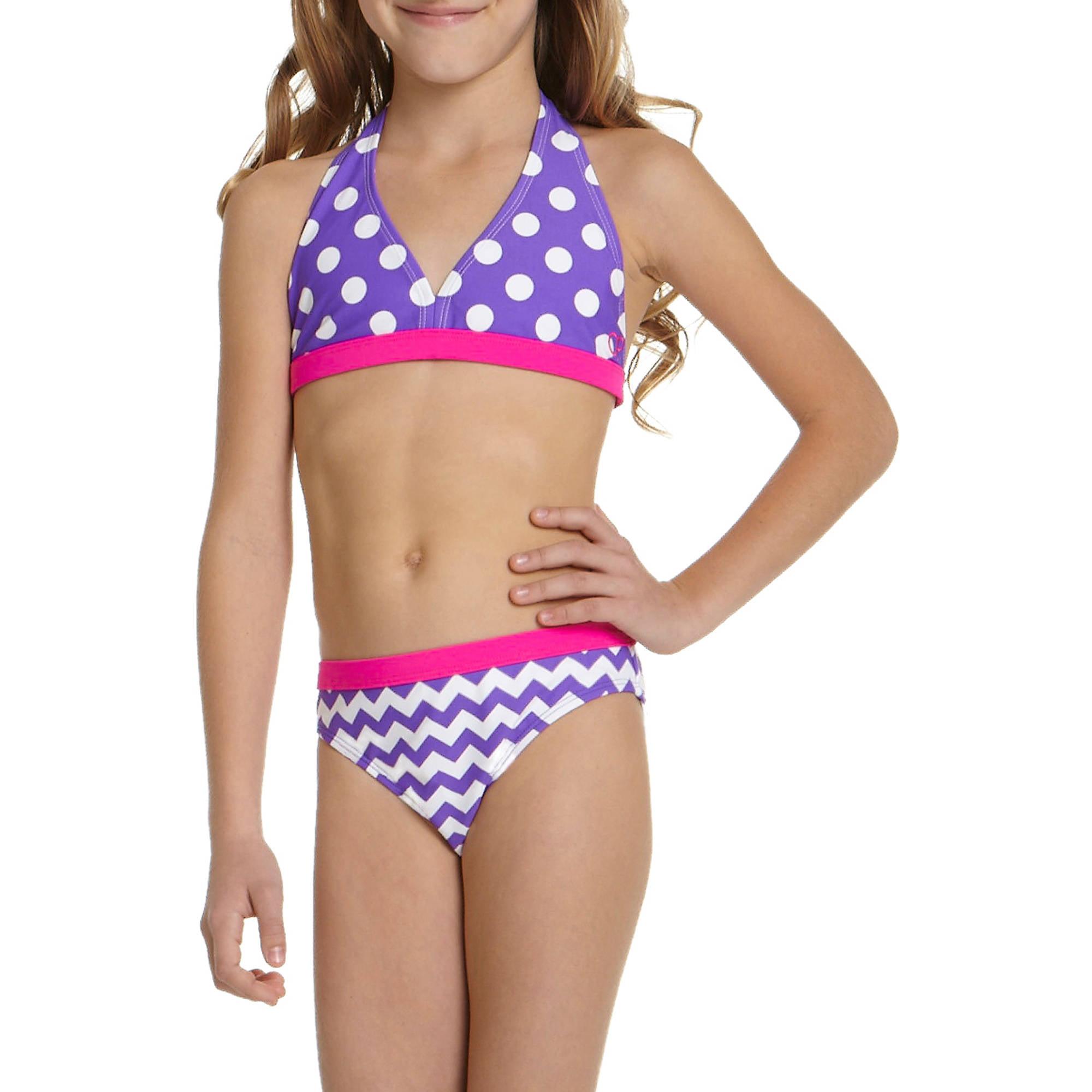 OP Girls' Geo Cool Bikini Swimsuit