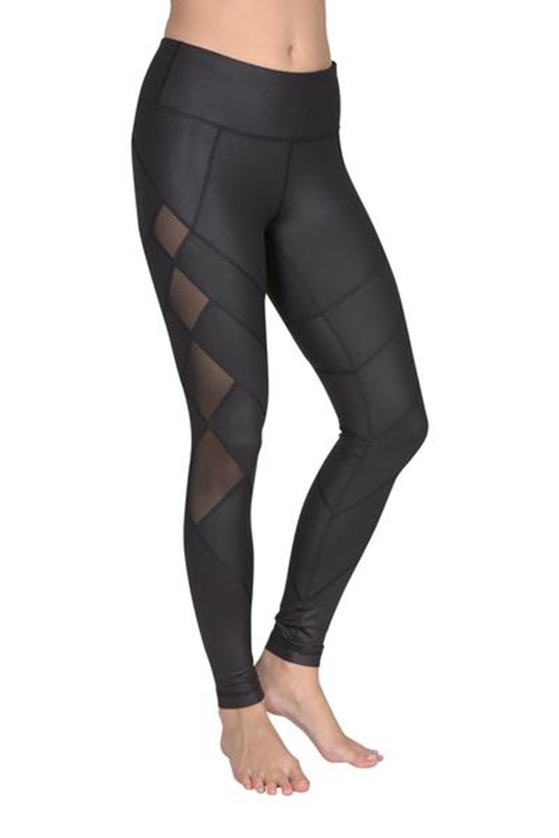 90 Degree By Reflex - High Shine w Diamond Leggings