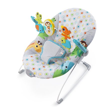 Bright Starts Vibrating Bouncer Seat - Monkey