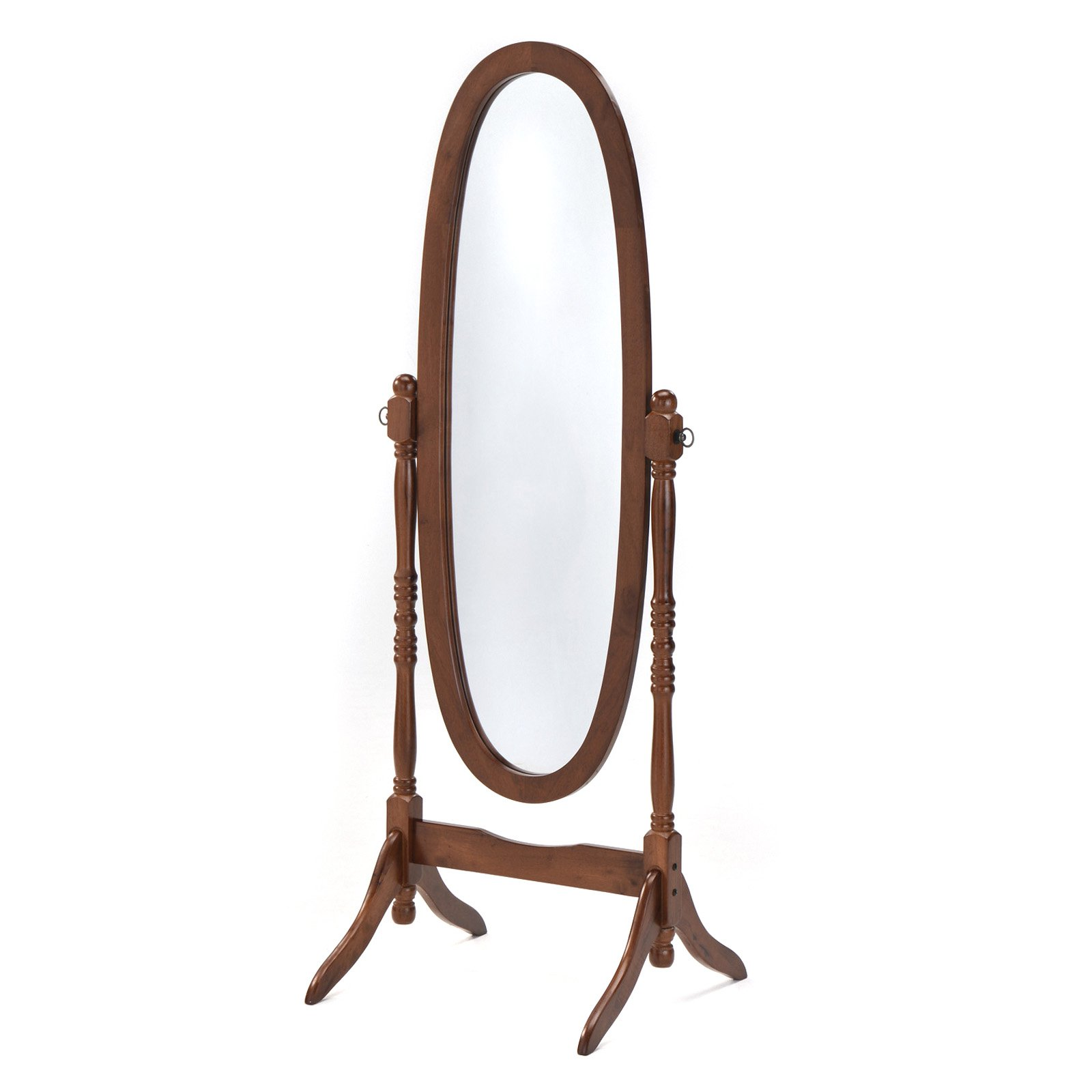 Home Source Oval Floor Mirror by