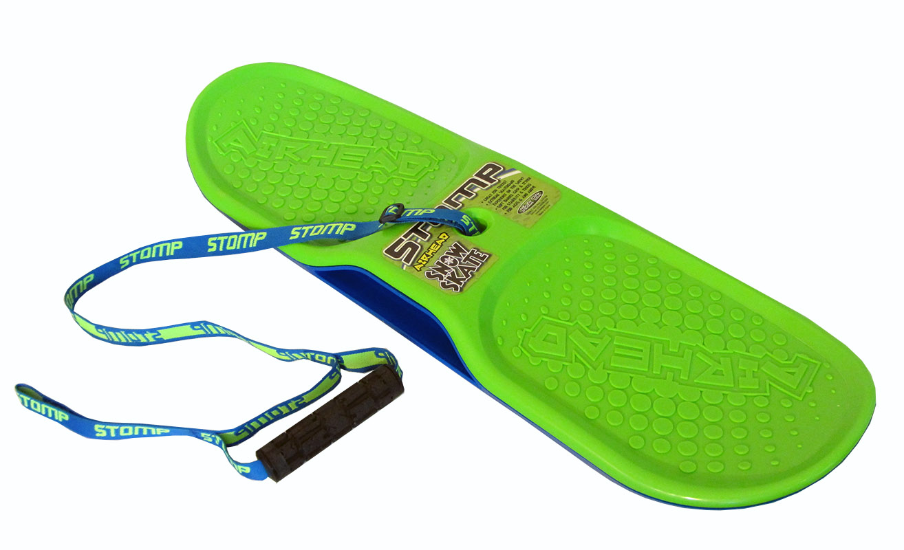 Airhead Stomp Snow Skate Winter Sledding Fun for All by