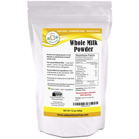Whole Milk Ricotta (Judee's Gluten Free Whole Milk Powder, 12 oz)