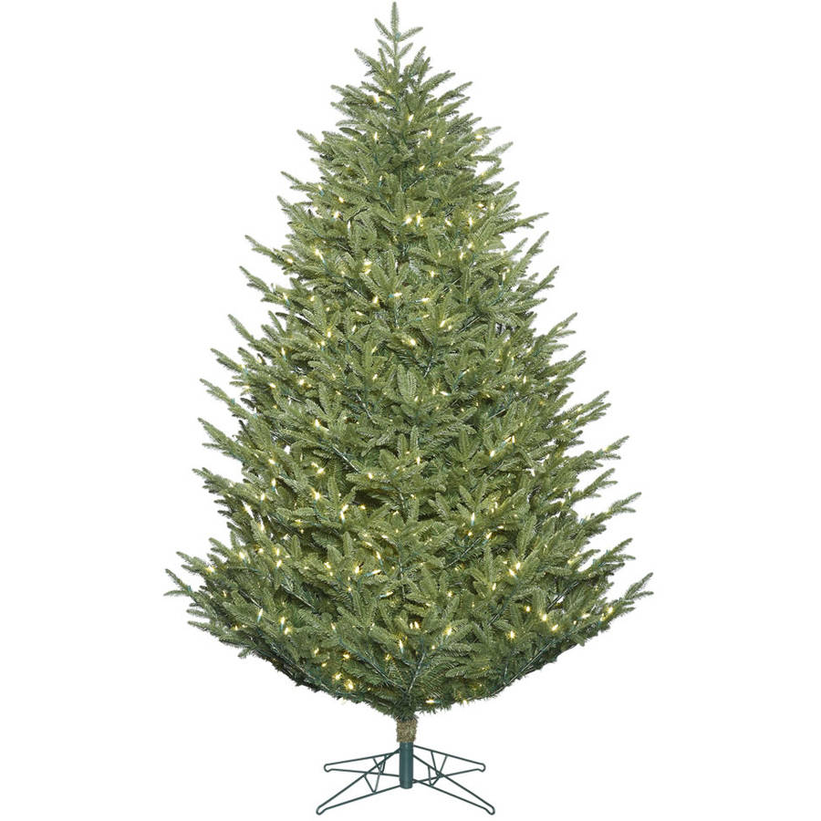 Vickerman 8.5' Deluxe Frasier Fir Artificial Christmas Tree with 1050 Warm White LED Lights