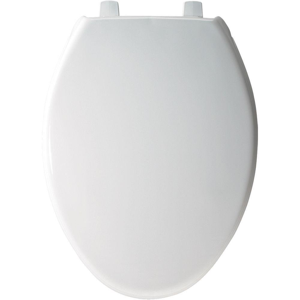 7800TDG000 Plastic Toilet Seat, Elongated, White, Ship from America ...