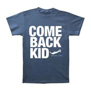 Comeback Kid Men's  Symptoms + Cures T-shirt Blue