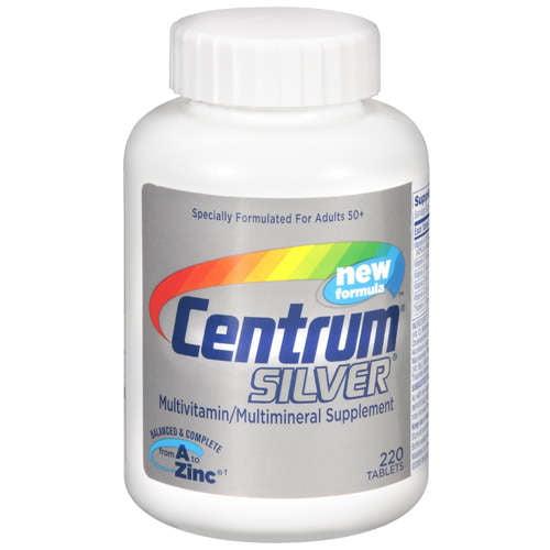 Consider, that Centrum silver vitamins will