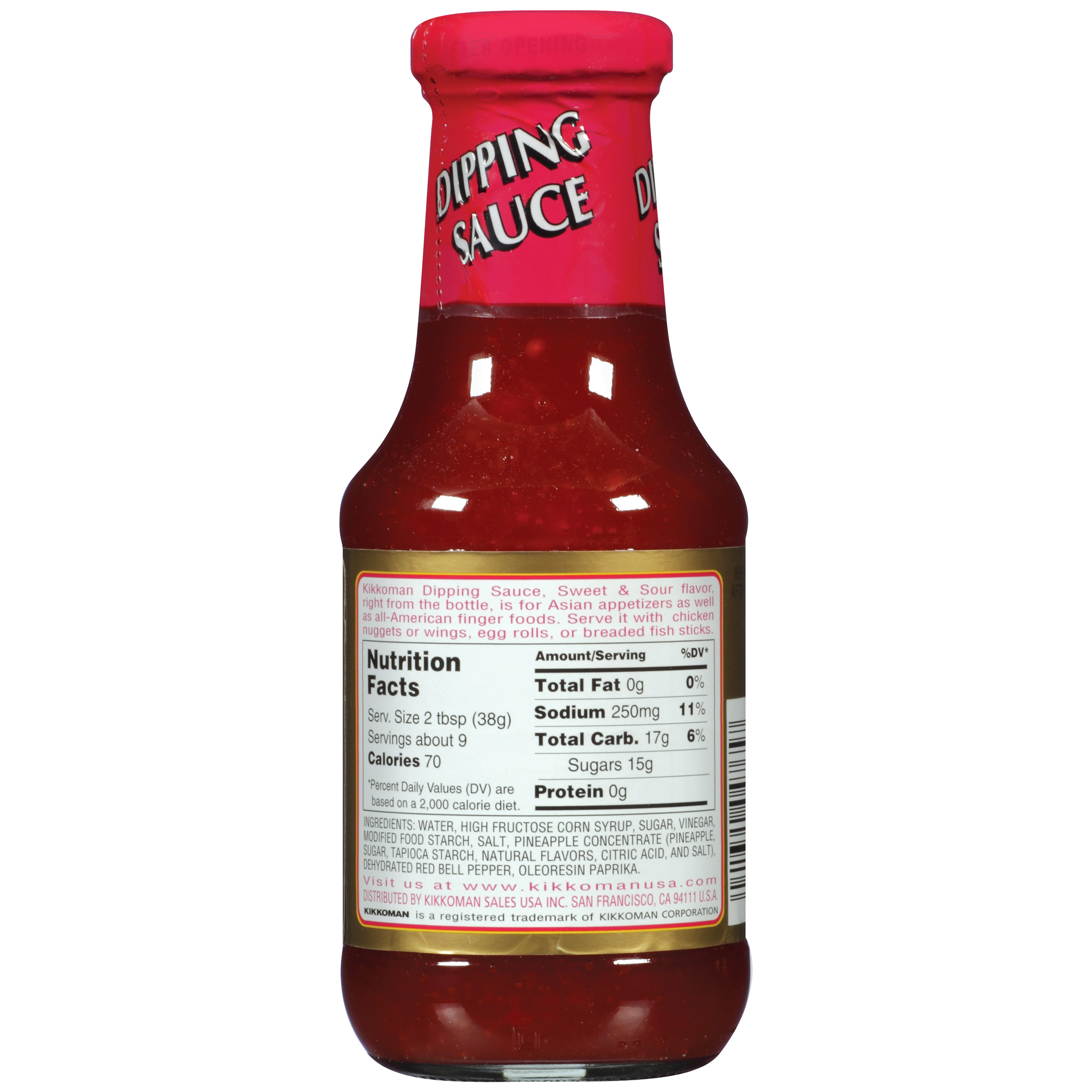 Kikkoman Sweet And Sour Dipping Sauce 12 Oz Walmart Com Walmart Com