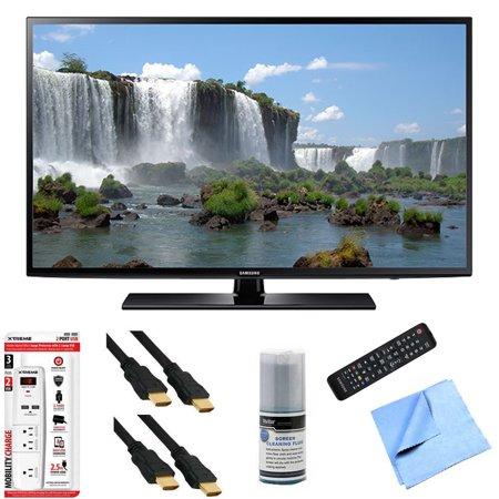 Samsung UN60J6200 – 60-Inch Full HD 1080p 120hz Smart LED HDTV Hook-Up Bundle includes UN60J6200 60-Inch 120hz Full HD 1080p Smart TV, Screen Cleaning Kit, 6′ HDMI Cable x 2, 6 Outlet/2 USB Wall Tap