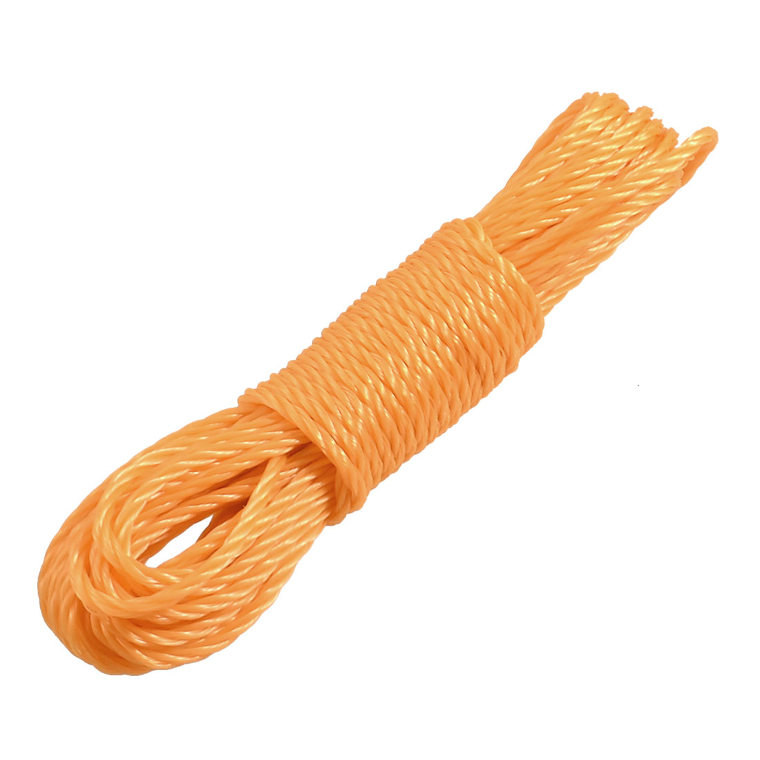 30.8Ft Long Clothes Hang Rope Nylon String Clothesline Yellowgreen