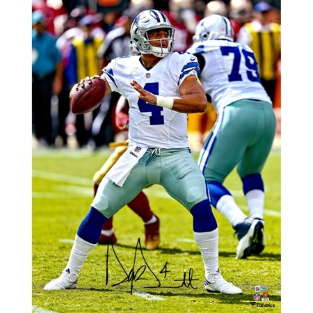 sports shoes c9212 3d9c6 Dak Prescott Dallas Cowboys Autographed 16