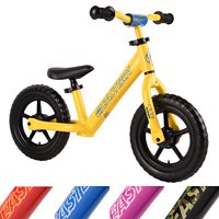 Eastern Pusher Ultralight and Adjustable Balance Bike for Ages 1 to 6 years old. Only 4.6 lbs (Yellow)