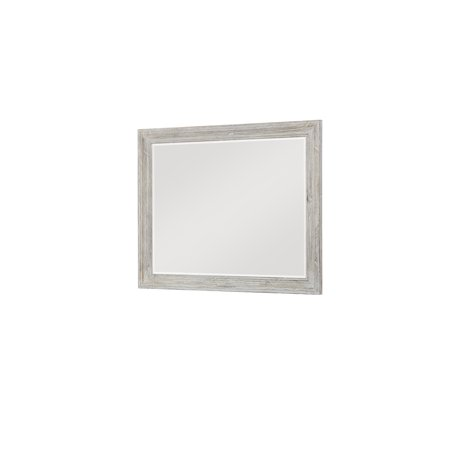 Emerald home taos wisp white mirror with beveled glass and wood emerald home taos wisp white mirror with beveled glass and wood frame solutioingenieria
