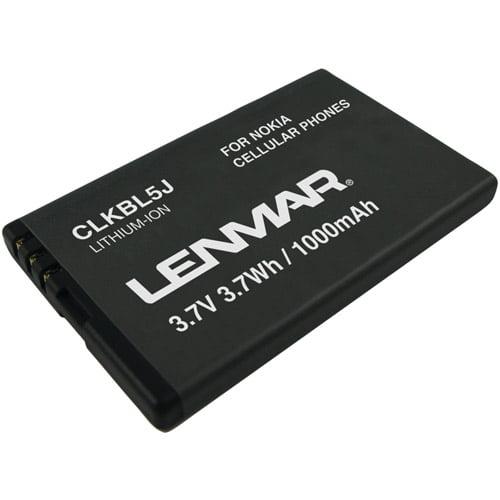 LENMAR CLKBL5J Replacement Battery for Nokia(R) 5800 XpressMusic(TM) 5802 XpressMusic(TM) Cellular Phones