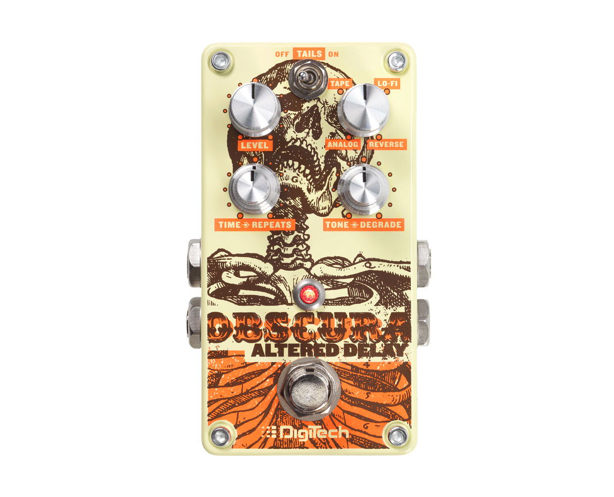 DigiTech Obscura Altered Delay Guitar Effects Pedal by