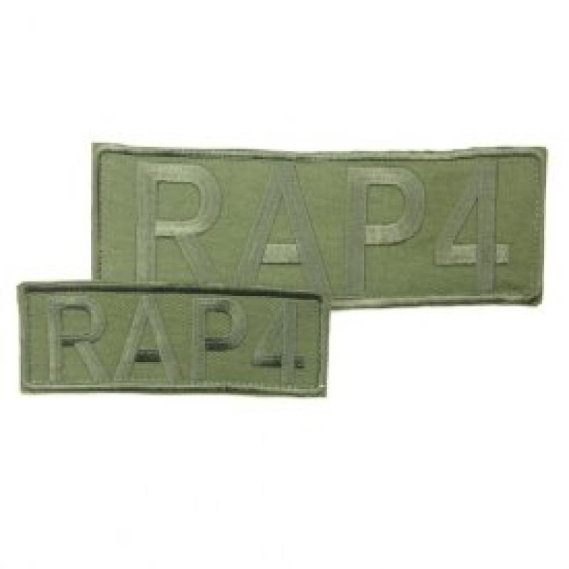 RAP4 Camo Patches (Front & Back) (Olive Drab) - paintball...