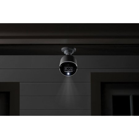 Lorex LHV51163T12KXB 16-Channel 4K Ultra HD Security System with 12 Active Deterrence 4K