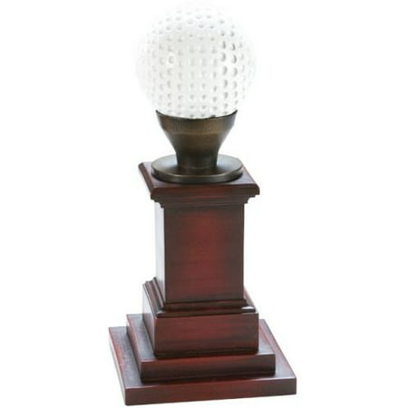 Trophy Golf Ball Gold Cherry Cast Resin New Hand-Cast Hand-Painted Paint (Hand Painted Cherry)