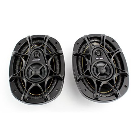 """2) KICKER DS693 6x9"""" 280W 3-Way DS Series Car Coaxial Audio Speakers 11DS693"""