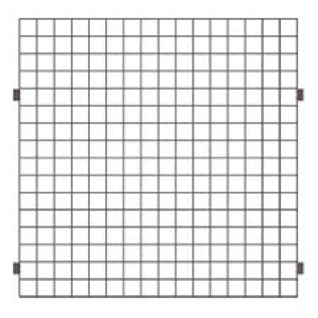 Lavi Industries 50-NX102-GB 48 x 48 In. Open Wire Grid