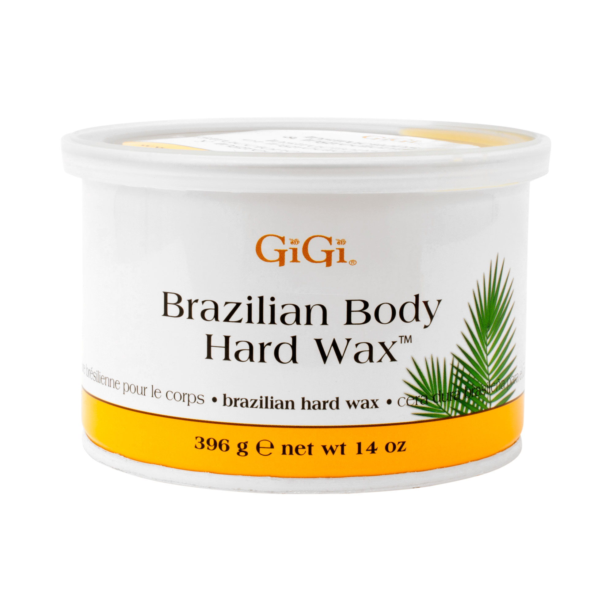 GiGi 14oz BRian Body Hard Wax Hair Removal Depilatory, 0899