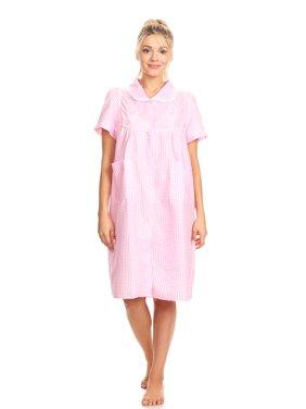 41754d3bba6e0 Product Image 2010 Womens Nightgown Sleepwear Cotton Pajamas - Woman  Sleeveless Sleep Dress Nightshirt Pink 2X