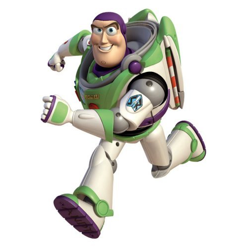 Toy Story - Buzz Peel and Stick Giant Wall Decals