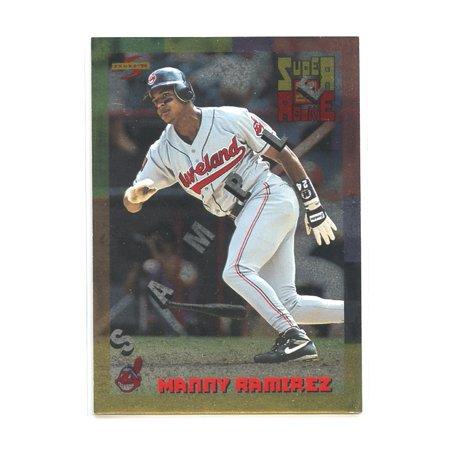 1994 Score Rookie Traded #SU2 Manny Ramirez Cleveland Indians Rookie Sample Card ()