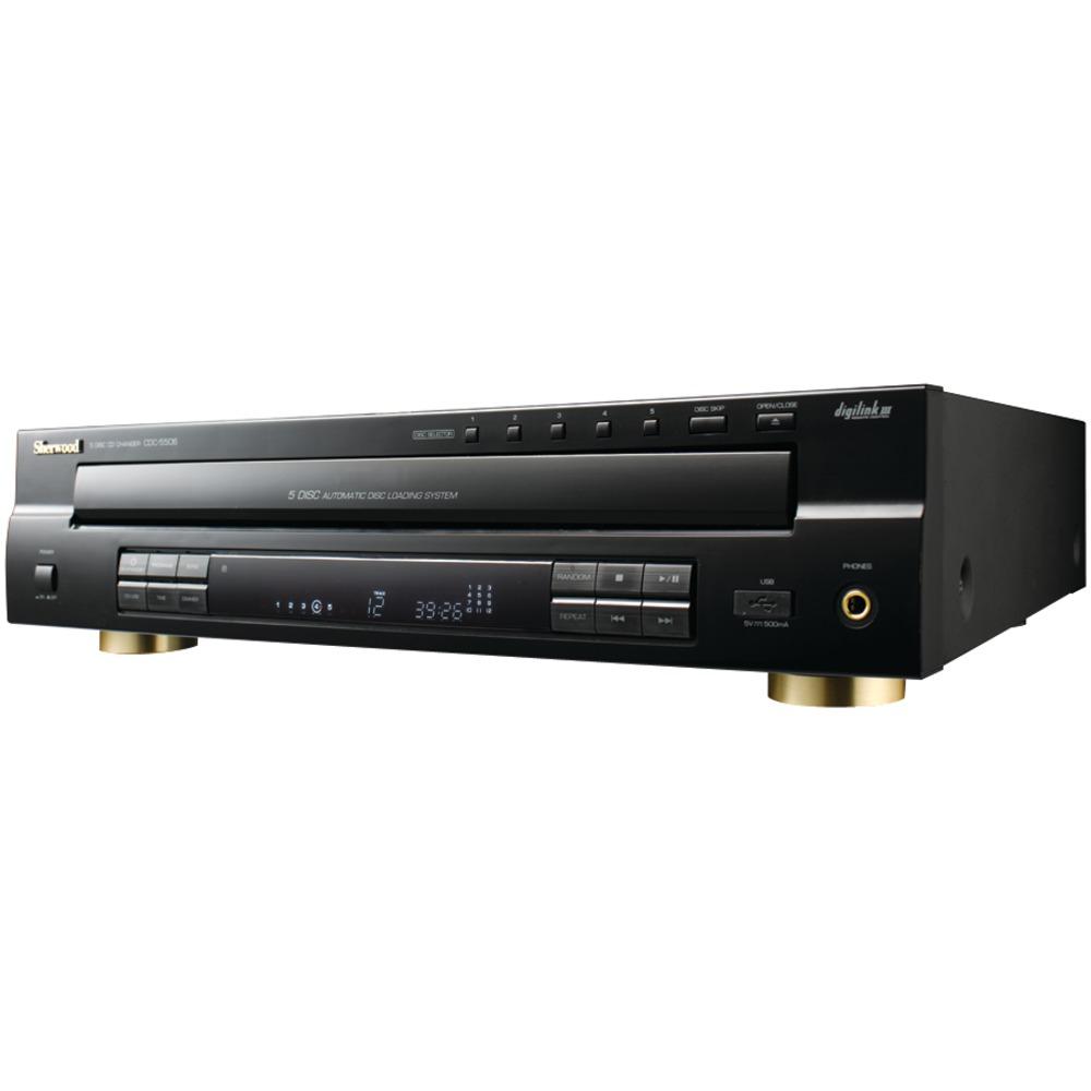SHERWOOD CDC-5506 5-Disc CD Changer by DOBA Electronics